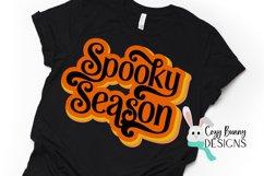 Spooky Season - Retro Halloween SVG Product Image 1
