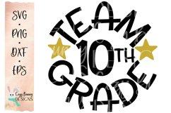Team 10th Grade - School SVG Product Image 2