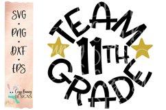 Team 11th Grade - School SVG Product Image 2