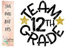 Team 12th Grade - School SVG Product Image 2