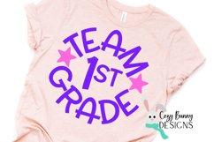 Team 1st Grade - School SVG Product Image 3