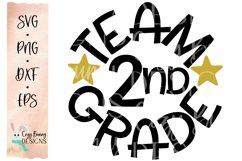 Team 2nd Grade - School SVG Product Image 2