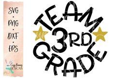 Team 3rd Grade - School SVG Product Image 2