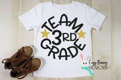 Team 3rd Grade - School SVG Product Image 1