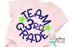Team 3rd Grade - School SVG Product Image 3