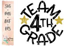 Team 4th Grade - School SVG Product Image 2