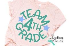 Team 4th Grade - School SVG Product Image 3