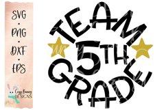 Team 5th Grade - School SVG Product Image 2