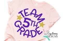 Team 5th Grade - School SVG Product Image 3