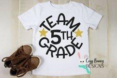 Team 5th Grade - School SVG Product Image 1