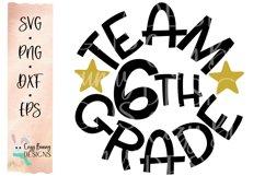 Team 6th Grade - School SVG Product Image 2