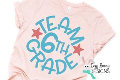 Team 6th Grade - School SVG Product Image 3