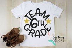 Team 6th Grade - School SVG Product Image 1