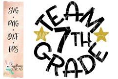 Team 7th Grade - School SVG Product Image 2