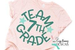 Team 7th Grade - School SVG Product Image 3