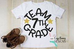 Team 7th Grade - School SVG Product Image 1