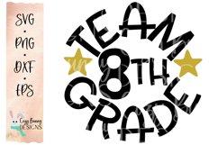 Team 8th Grade - School SVG Product Image 2