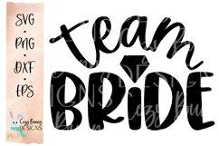 Team Bride SVG - Wedding SVG Product Image 2
