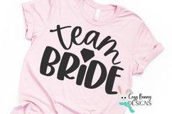 Team Bride SVG - Wedding SVG Product Image 3