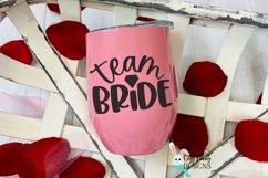 Team Bride SVG - Wedding SVG Product Image 1