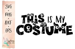 This is my Costume SVG - Halloween SVG Product Image 2