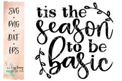Tis the Season to be Basic SVG Product Image 2