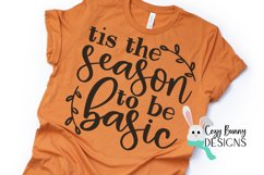 Tis the Season to be Basic SVG Product Image 1