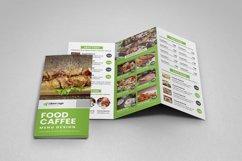 Food Menu Trifold Brochure v2 Product Image 5