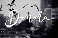 Denala - Signature Font Product Image 1