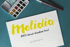 HandBrushed Greek, Cyrillic Typeface, Melidia Font Product Image 1