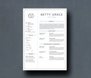 RESUME TEMPLATE CV PAGES Product Image 3