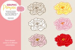 Pretty Peonies in Pink & Yellow Product Image 3
