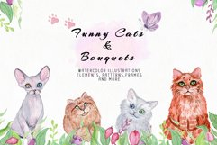 Funny Cats & Bouquets Product Image 3