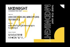 Web Font Moonlight Product Image 4