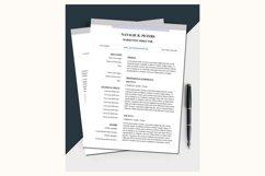 Simple resume – Natalie Product Image 1