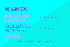 Gotcha Typeface Product Image 3