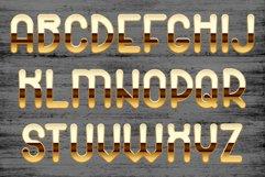 Golden palace - metallic font Product Image 6