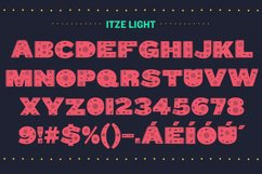 Itze Font Product Image 3