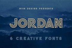 Jordan - Display Font Product Image 1