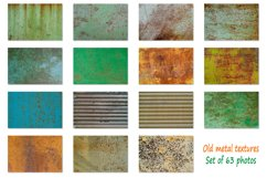 Old metal textures background Product Image 5
