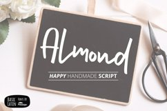 Almond Hand Lettering Script Fonts Product Image 1