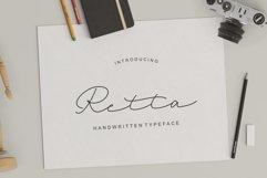 Retta Handwritten Typeface Product Image 1