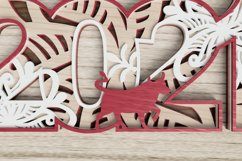 New Year laser cut file - 2021 - Year of the Ox Product Image 2
