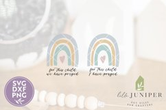 For This Child We Have Prayed SVG, Rainbow SVG, Baby SVG Product Image 2
