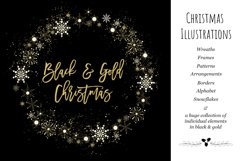 Black & Gold Christmas Product Image 1
