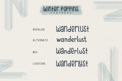 Winter Poppins | Handwritten Font Product Image 6