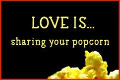 Buttered Popcorn - A handwritten serif font Product Image 4