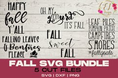 Fall Design Bundle | Fall SVG collection | DIY Fall Decor Product Image 1