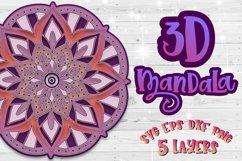3D Mandala svg bundle Papercut SVG Zentangle Product Image 5