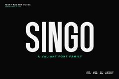 Singo | Sans Display Font Product Image 1